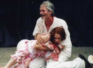 Scene from Trigonis's Titus Andronicus; 2003