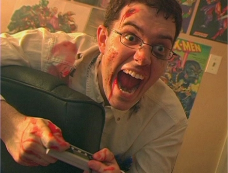 Angry Video Game Nerd James Rolfe knows all about building audience. And being angry.