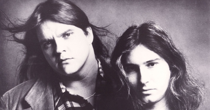 Meat Loaf and Jim Steinman, back in the day.